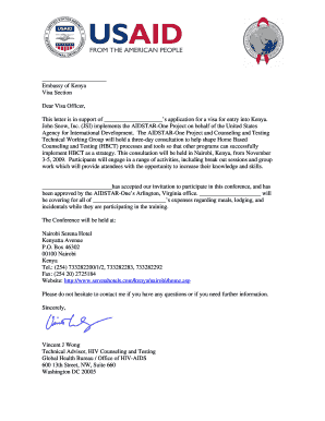 USAID DELIVER PROJECT Letterhead Template ... - AIDSTAR-One