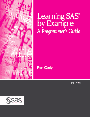 sas statistics by example pdf free download ron cody