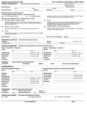Dallas Building Permit Application