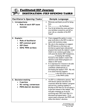 iep accommodations for adhd high school - Fillable ...