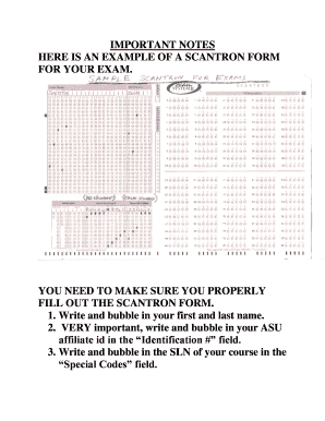 photograph about Printable Scantron Form named Fillable free of charge scantron sorts obtain towards Comprehensive On-line