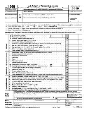 form 1065 no income  13 Form IRS 13 Fill Online, Printable, Fillable, Blank ...