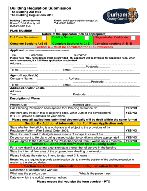 Fillable Online COUNCOUNTY DURHAM COUNCIL Fax Email Print