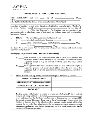 picture regarding Free Printable Living Will Forms Washington State identified as Editable llc doing work settlement washington nation - Fill Out