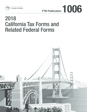 Fillable Online 2018 Publication 1006 - California Tax Forms