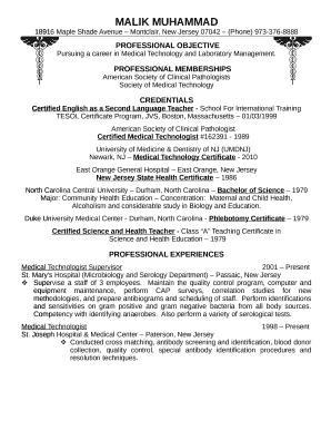 Fillable Online Resumebeta 828 Free Resume Templates And