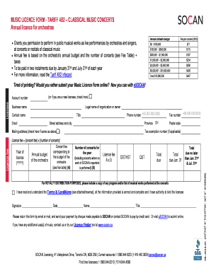 music performance contract pdf Templates - Fillable & Printable ...