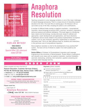 Anaphora resolution online dating