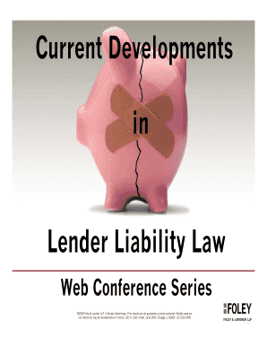 Fillable online lender liability law fax email print pdffiller rate this form fandeluxe Image collections