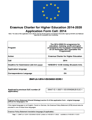Application Form Erasmus - Fill Online, Printable, Fillable, Blank on application to be my boyfriend, application error, application meaning in science, application database diagram, application service provider, application to join a club, application approved, application for rental, application to rent california, application clip art, application trial, application cartoon, application template, application for scholarship sample, application submitted, application for employment, application in spanish, application to join motorcycle club, application insights, application to date my son,