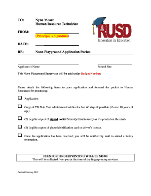 rusdlink Fillable Online rusdlink Supervision Application - Riverside Unified ...
