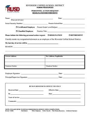 13 Printable retirement letter of resignation Forms and ...