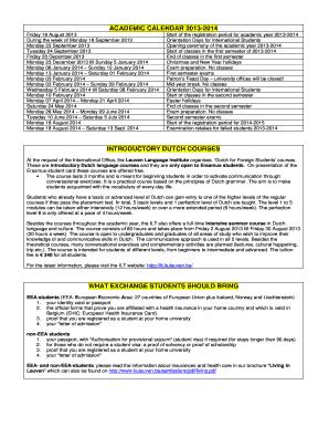 Usf Registrar Calendar.24 Printable 2013 2014 Academic Calendar August Forms And Templates