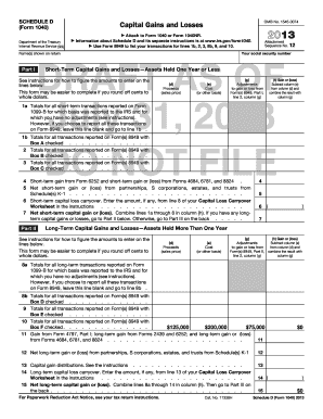 2013 form 1040 Templates - Fillable & Printable Samples for PDF ...