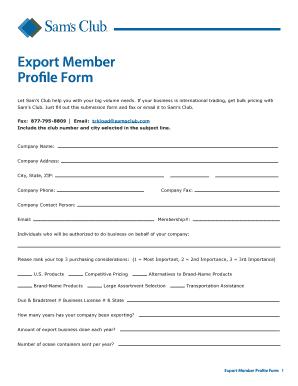 47799764 Sam S Club Application Form on