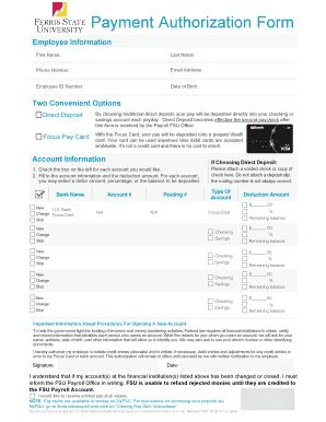 Fillable direct deposit form us bank Samples to Complete Online