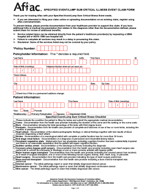 2017 2020 Form Aflac S00223 Fill Online Printable Fillable