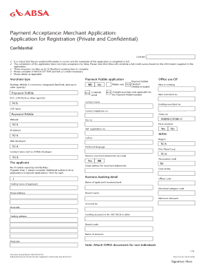 Fillable Online Absa 5122 Ex Qxd Fax Email Print Pdffiller