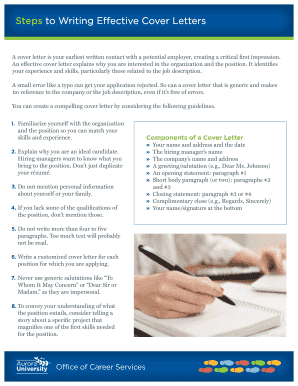 Fillable Online 5 Steps To Crafting A Killer Cover Letter The Muse Fax Email Print Pdffiller