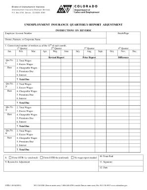 2019 Form Co Dor Uitr 3 Fill Online Printable Fillable Blank
