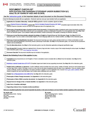 2019-2021 Form Canada CIT 0007 E Fill Online, Printable ...