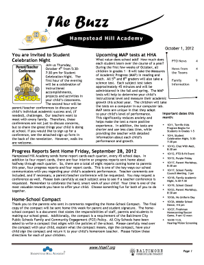 Highlights from the October Newsletter - Baltimore City Public Schools - baltimorecityschools