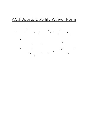 ACS Sports Liability Waiver Form   Ashland Christian School