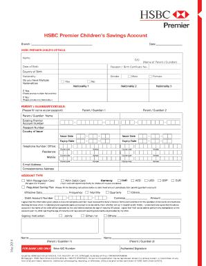 Fillable hsbc online forms Form Samples to Complete Online