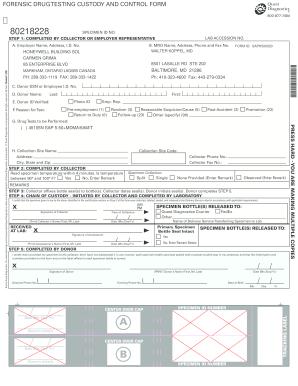 Drug Test Form Saph500020 - Fill Online, Printable, Fillable ...