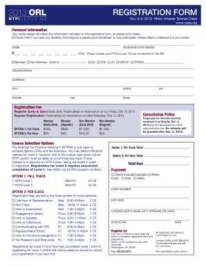 Printable registration form - National Association of Enrolled Agents