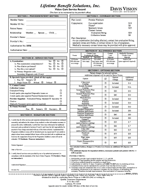 Fillable Online EBS-RMSCO Inc - Davis Vision Fax Email ...