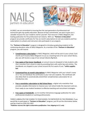Fillable Nail Salon Booth Rental Agreement Edit Print