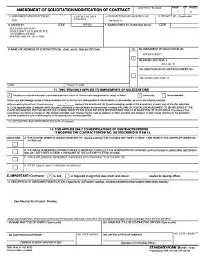 standard form 30  Fillable Online STANDARD FORM 7 (REV Fax Email Print ...