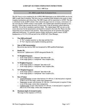 lymph node assessment documentation