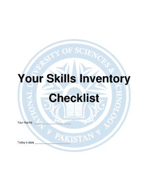 Printable what is inventory checklist - Fill Out & Download Top