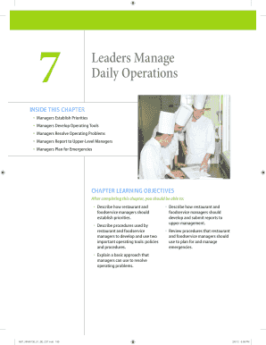Leaders Manage