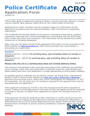 Acro Police Certificate >> 1 19 Police Certificate Acro Police Uk Doc Template