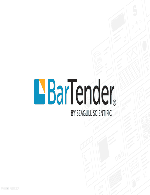Fillable Online Download Free Barcode Label Software Bartender Fax Email Print Pdffiller