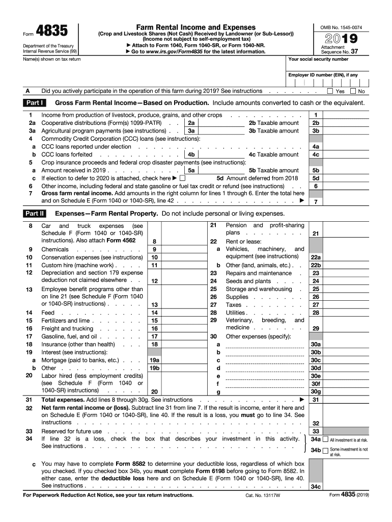form 4835 net investment income tax