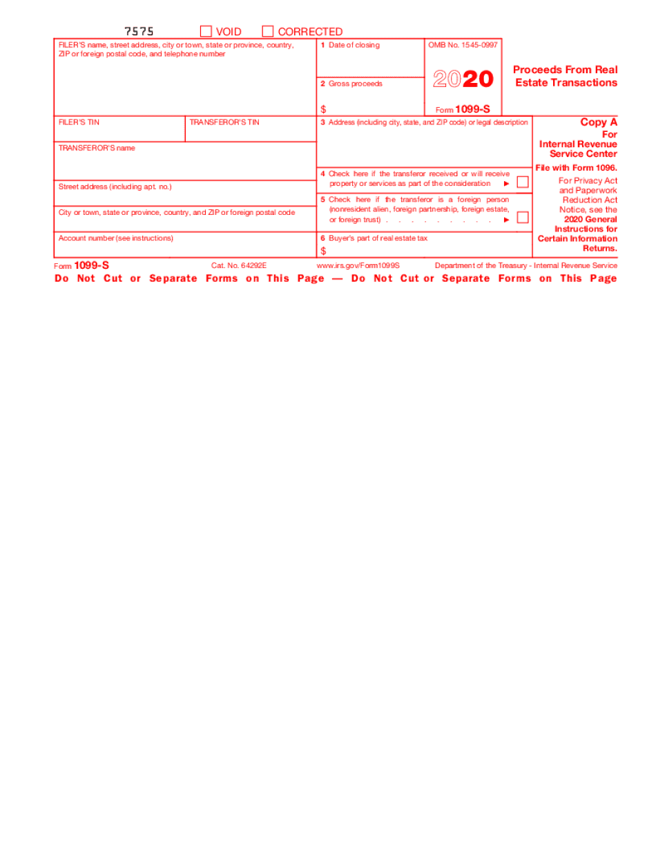 irs form 1099-s certification exemption form