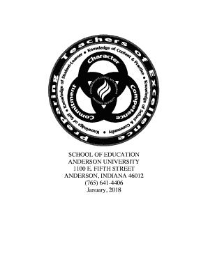 Anderson University Indiana Logo