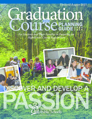 Graduation and Course Planning Guide - Bellingham Public Schools - bellinghamschools