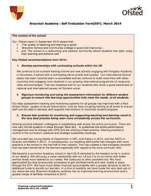 student self evaluation form pdf