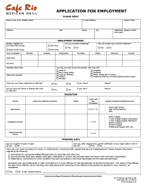 Cafe Rio Job Application - Fill Online, Printable, Fillable, Blank Cafe Order Form on order flow, order template, order number, order book, order symbol, order from walmart, order time, order letter, order of service, order of reaction, order button, order sheet, order now, order paper, order list, order of the spur certificate, order of byte sizes, order processing, order pad, order management,