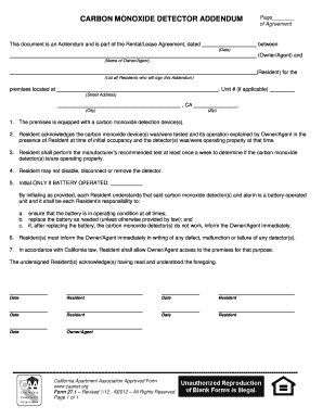 12 Printable Rental Agreement California Forms And Templates