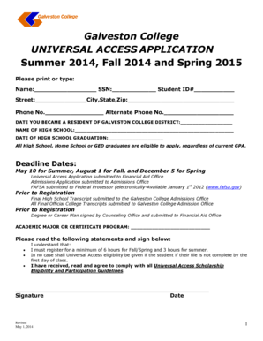 Universal Access To College 51