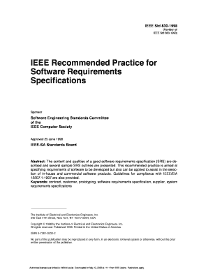 srs document for online shopping in ieee format - Fill Out