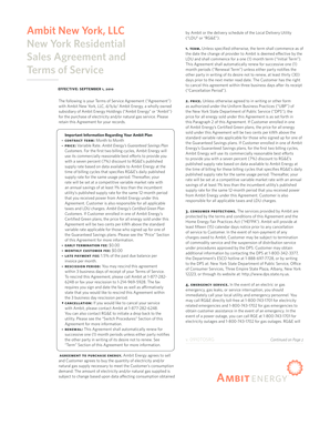 Sales Agreement and
