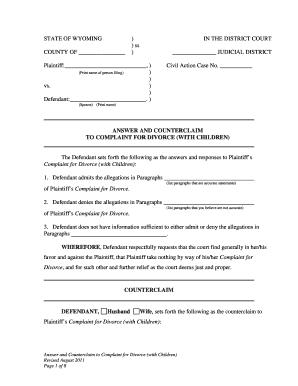 Fillable divorce buyout agreement form - Edit Online & Download ...