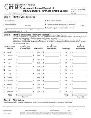 illinois annual report instructions - Edit Online, Fill Out ...